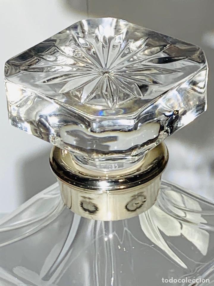 Antigüedades: Botella / Decantador / Licorera Whisky 75cl. Royal Cristal Rock y Plata. Siena. '70s. Impecable. - Foto 40 - 186386962