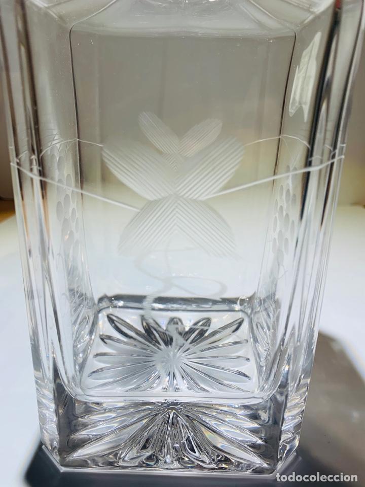 Antigüedades: Botella / Decantador / Licorera Whisky 75cl. Royal Cristal Rock y Plata. Siena. '70s. Impecable. - Foto 44 - 186386962