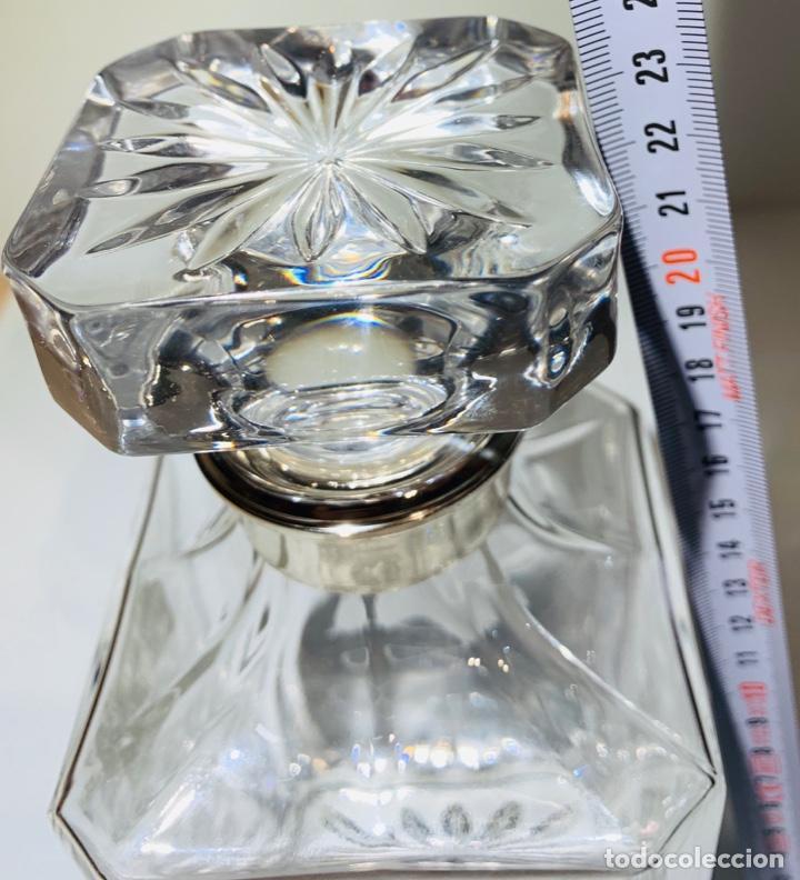 Antigüedades: Botella / Decantador / Licorera Whisky 75cl. Royal Cristal Rock y Plata. Siena. '70s. Impecable. - Foto 45 - 186386962