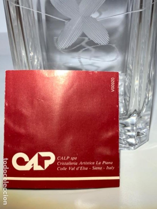 Antigüedades: Botella / Decantador / Licorera Whisky 75cl. Royal Cristal Rock y Plata. Siena. '70s. Impecable. - Foto 46 - 186386962