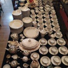 Antigüedades: GRAN LOTE PORCELANA VAJILLAS, PLATOS, SOPERAS, TAZAS, CUENCOS.... Lote 186389581