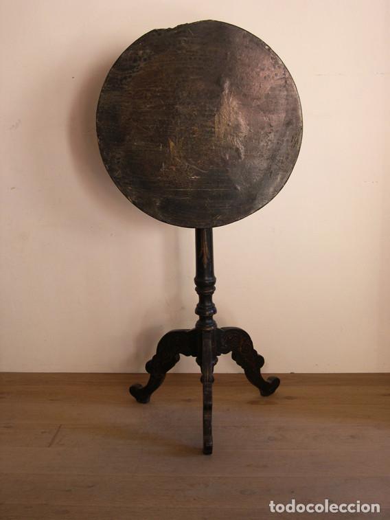 Antigüedades: MESA VELADOR GUERIDON S. XIX - Foto 3 - 186394791