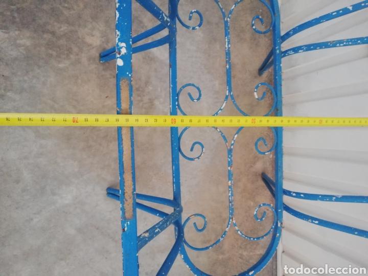 Antigüedades: Espectacular mesa antigua de hierro forjado para jardin o terraza vintage años 60 - Foto 5 - 186404610