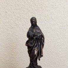 Antigüedades: VIRGEN INMACULADA DE PLATA. Lote 186416811