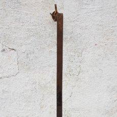 Antigüedades: ANTIGUAS TREBEDES DE RULETA DE FORJA.. Lote 186418822