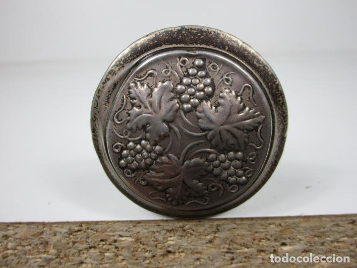 Antigüedades: Curioso Bastón - Empuñadura en Plata - Decoración con Uvas - Principios S. XX - Foto 6 - 186428941