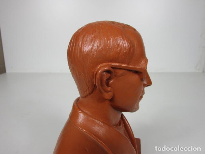 Antigüedades: Escultura Terracota - Busto - Firma M. Garcia - Foto 11 - 186430073