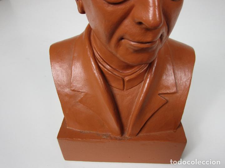 Antigüedades: Escultura Terracota - Busto - Firma M. Garcia - Foto 13 - 186430073