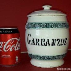 Antiguidades: BUCARO , TARRO , BOTE COCINA DE MANISES AÑOS 40. Lote 186439573