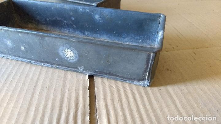 Antigüedades: Dos cajas de Zinc. Incicios del siglo XX - Foto 6 - 186444785