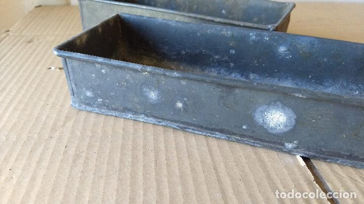 Antigüedades: Dos cajas de Zinc. Incicios del siglo XX - Foto 7 - 186444785