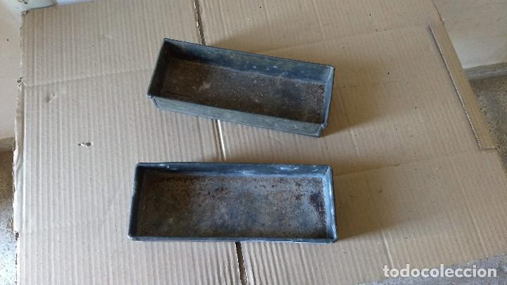 Antigüedades: Dos cajas de Zinc. Incicios del siglo XX - Foto 4 - 186444785