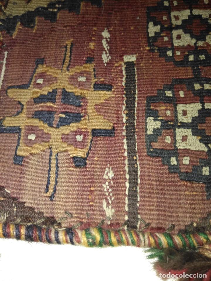 Antigüedades: ANTIGUO BOLSO BORDADO PARA INDUMENTARIA TRADICIONAL - Foto 12 - 186453121