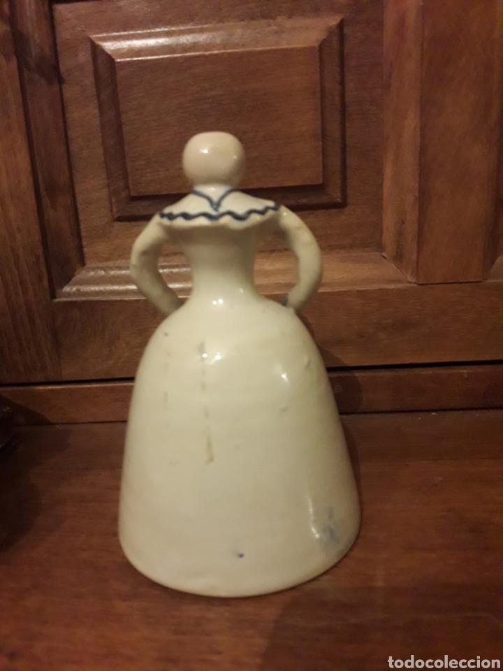 Antigüedades: Antigua campanilla de cerámica, Alfar Santa Catalina - Foto 4 - 186454786