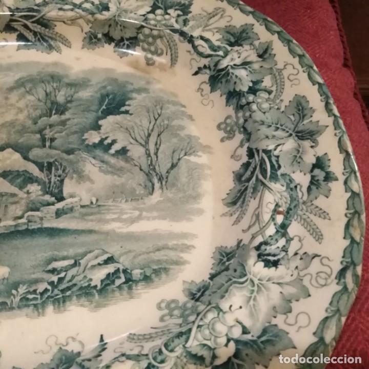 Antigüedades: Antigua fuente Stafford de 1850-60 - Foto 3 - 183630256