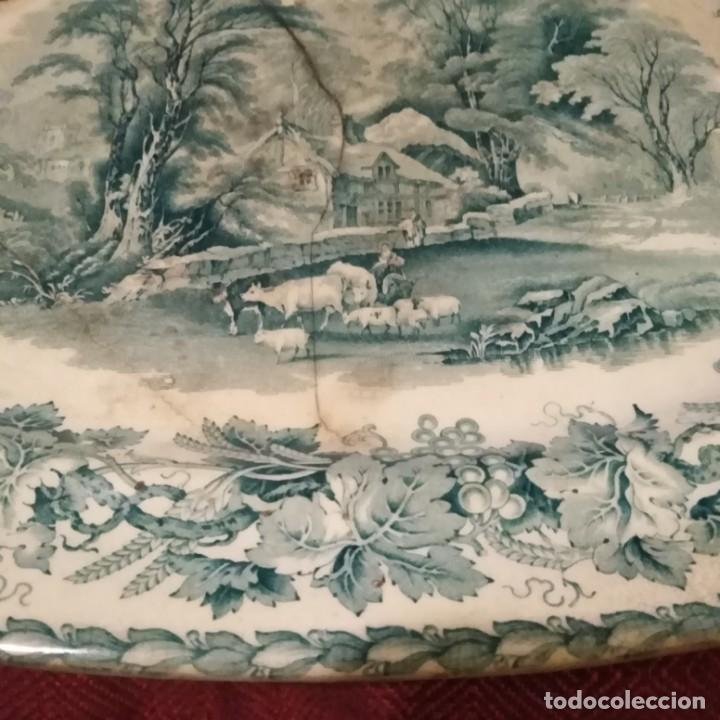 Antigüedades: Antigua fuente Stafford de 1850-60 - Foto 5 - 183630256