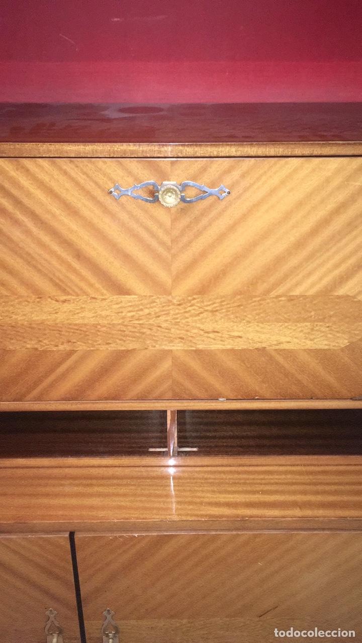 Antigüedades: Mueble aparador de salón comedor vintage retro antiguo años 60 / 70 - Foto 18 - 185994808