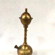 Antigüedades: INCENSARIO DE LATÓN . Lote 186610572
