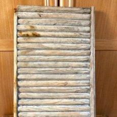 Antigüedades: TABLA DE LAVAR. Lote 186628397