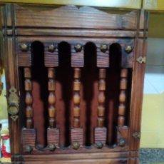 Antigüedades: MUEBLE RUSTICO ALACENA. Lote 186647477
