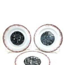 Antigüedades: PLATOS MODERNISTAS. Lote 186701448