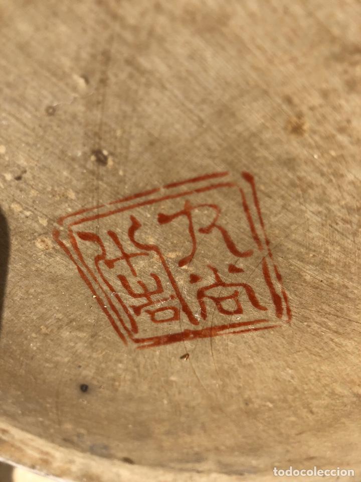 Antigüedades: Jarrón muy grande de cerámica china, con sello. - Foto 3 - 165229826