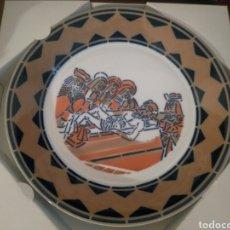 Antigüedades: PLATO NUMERADO 415/1000 SANTAS MULLERES ANTE O SECULCRO. VILA DO MEDIO DE BURELA. SARGADELOS. Lote 186855580