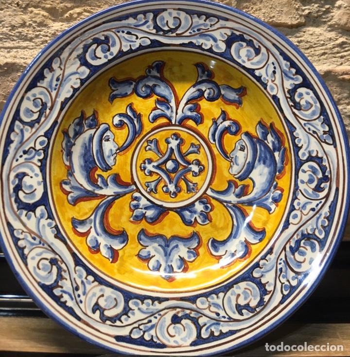 PLATO RENACENTISTA TALAVERA (Antigüedades - Porcelanas y Cerámicas - Talavera)