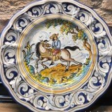 Antigüedades: PLATO DE TALAVERA DE LA REINA. Lote 187097151