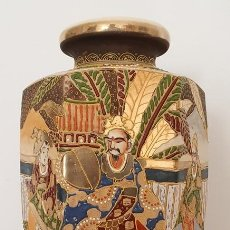 Antigüedades: JARRÓN EN CERÁMICA SATSUMA . Lote 187121690