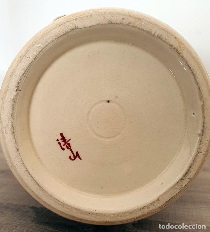 Antigüedades: JARRÓN EN CERÁMICA SATSUMA - Foto 7 - 187121690