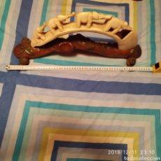 Antigüedades: FIGURA DE MARFIL. Lote 187125466