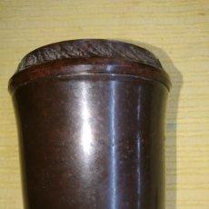 Antigüedades: BOTE PORTA TABACO BAQUELITA AÑOS 30 / 40 (HACER PREGUNTAS). Lote 187126045