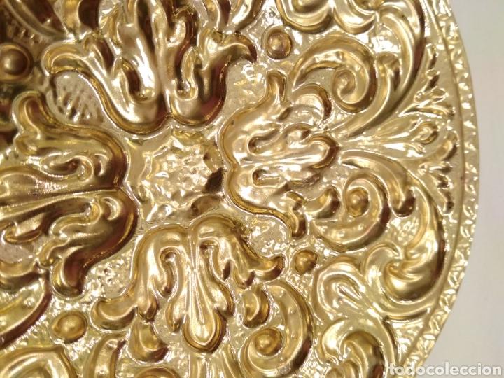 Antigüedades: Galleta dorada 12 cm. de diámetro (nuevo) - Foto 3 - 187152157