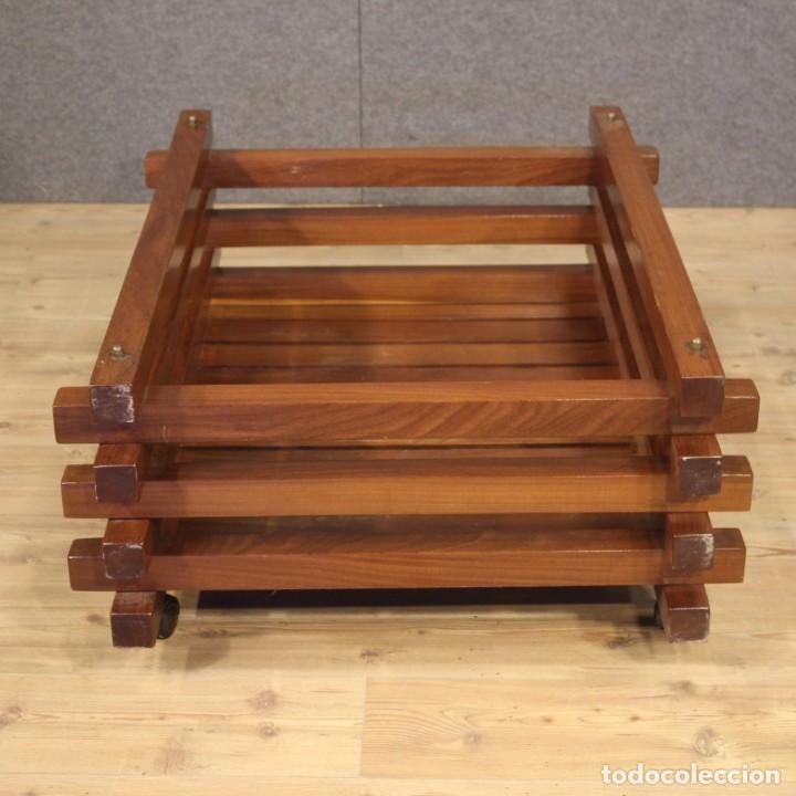 Antigüedades: Jardinera de diseño italiano en madera de caoba - Foto 2 - 187155427