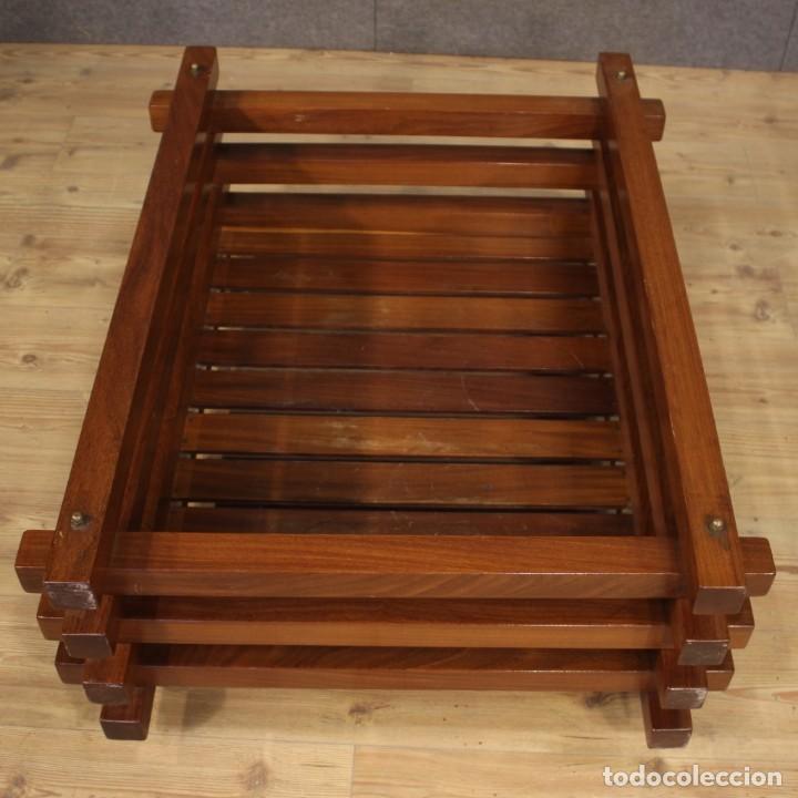 Antigüedades: Jardinera de diseño italiano en madera de caoba - Foto 4 - 187155427