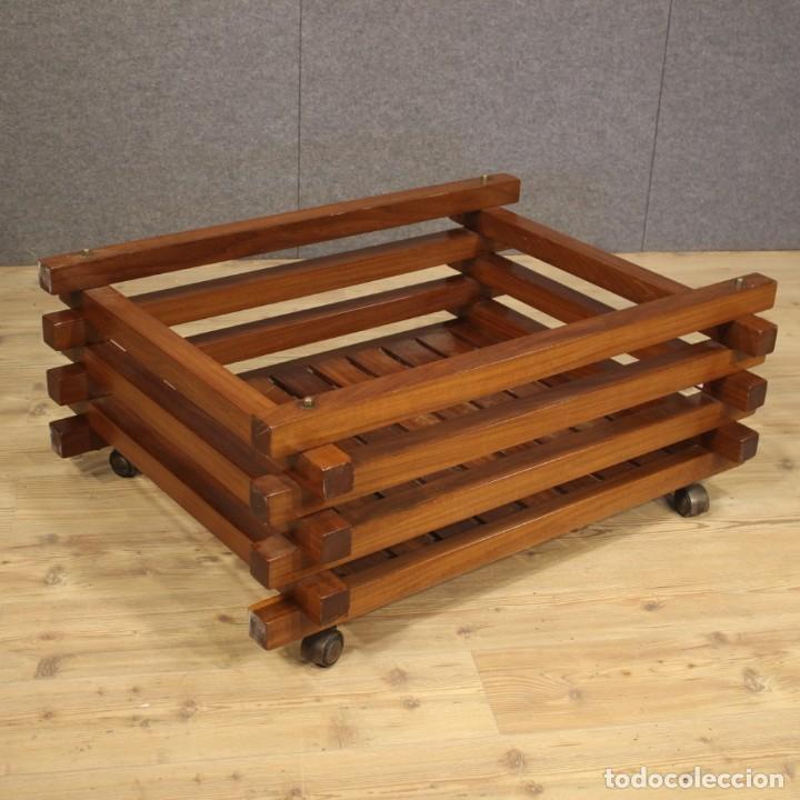 Antigüedades: Jardinera de diseño italiano en madera de caoba - Foto 5 - 187155427