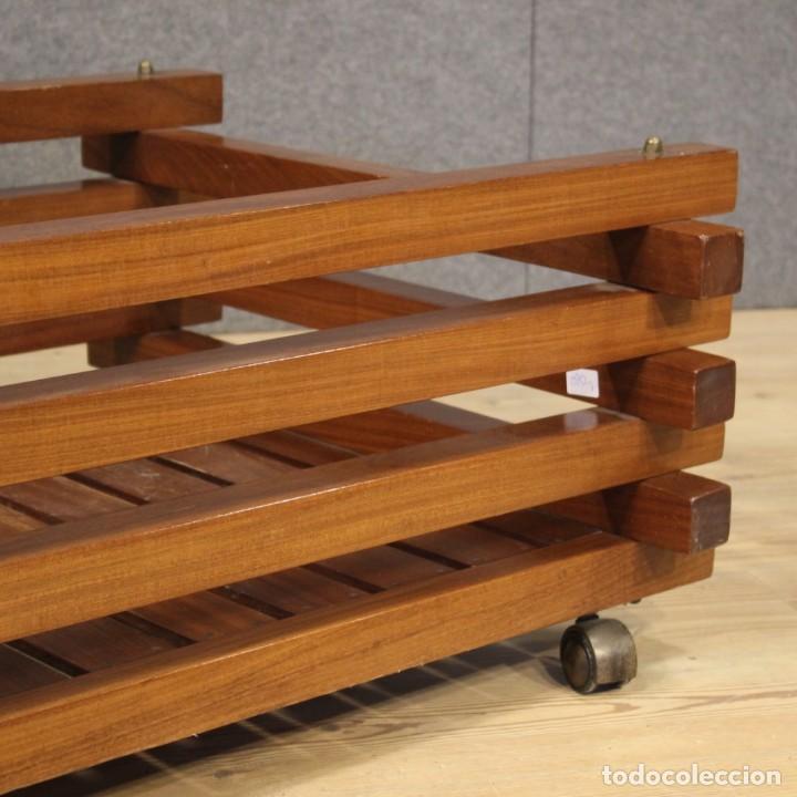 Antigüedades: Jardinera de diseño italiano en madera de caoba - Foto 7 - 187155427