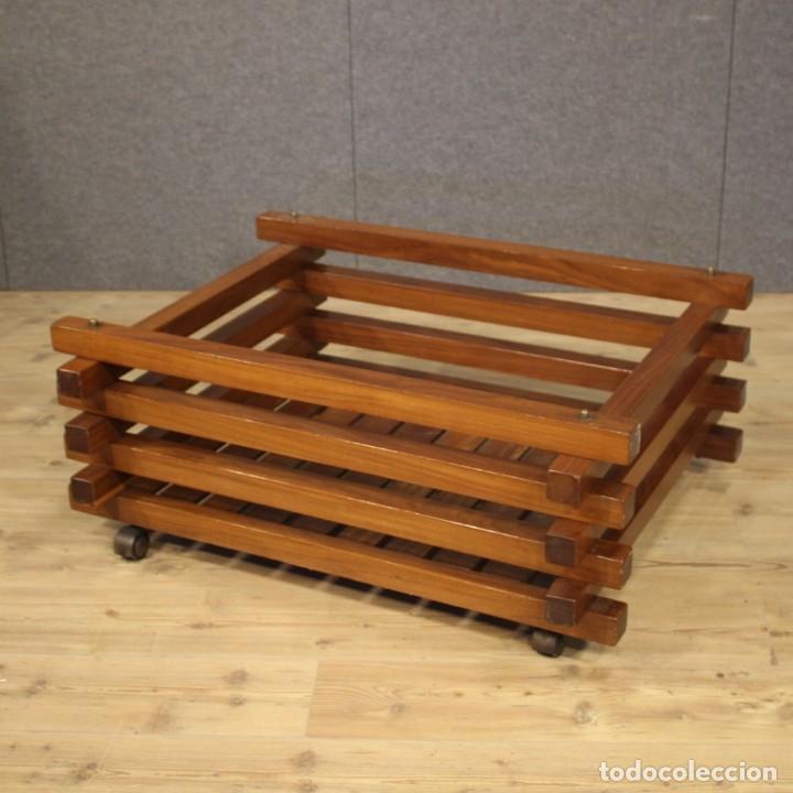 Antigüedades: Jardinera de diseño italiano en madera de caoba - Foto 8 - 187155427
