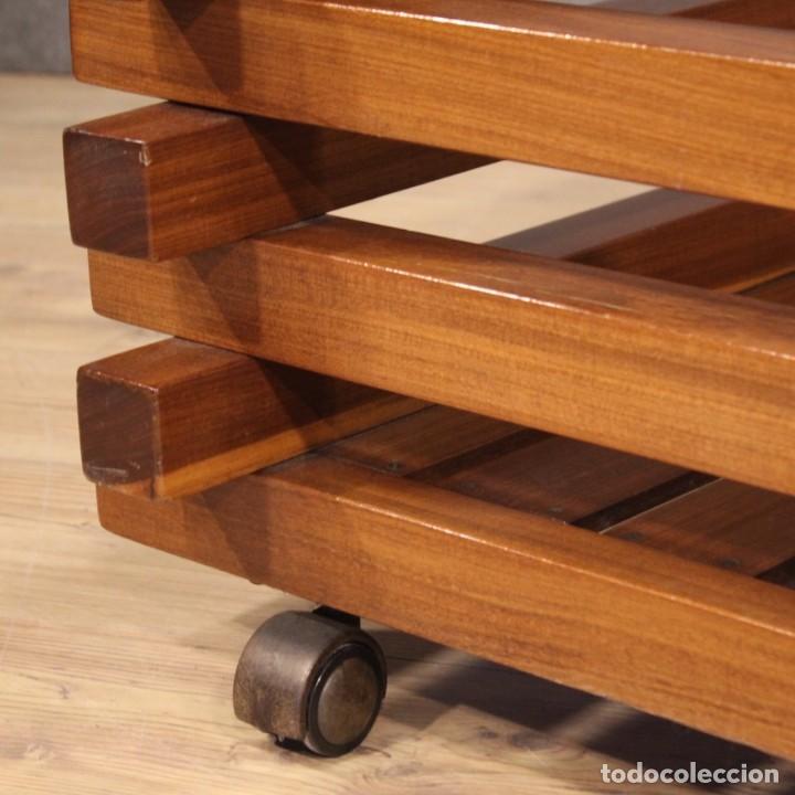 Antigüedades: Jardinera de diseño italiano en madera de caoba - Foto 9 - 187155427