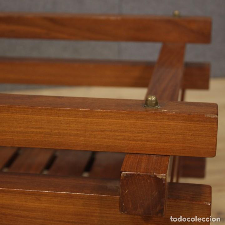 Antigüedades: Jardinera de diseño italiano en madera de caoba - Foto 10 - 187155427