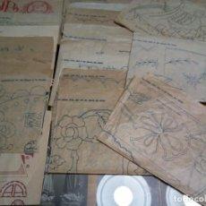 Antigüedades: * PATRONES PARA BORDADOS .1925.EL HOGAR Y LA MODA ( RF:P-27/*). Lote 187155631