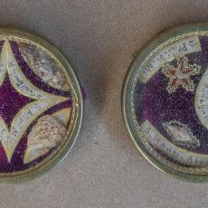 Antiquités: RELICARIOS SIGLO XIX CON SELLOS DE LACRE. Lote 187186106