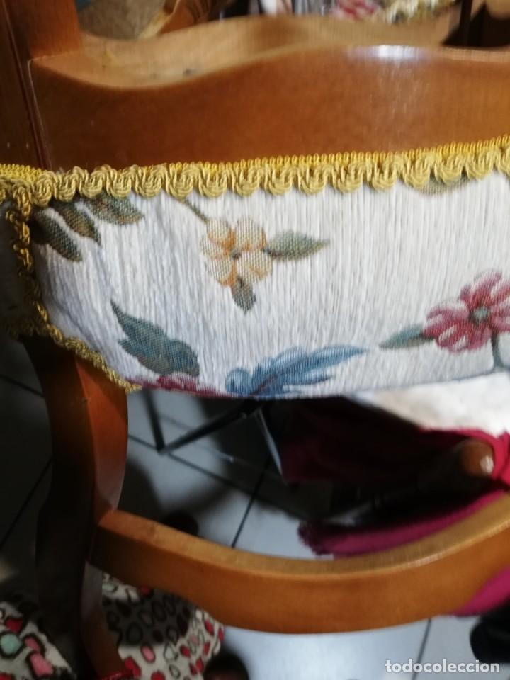Antigüedades: Silla de madera maciza, estilo isabelina. - Foto 3 - 187204740