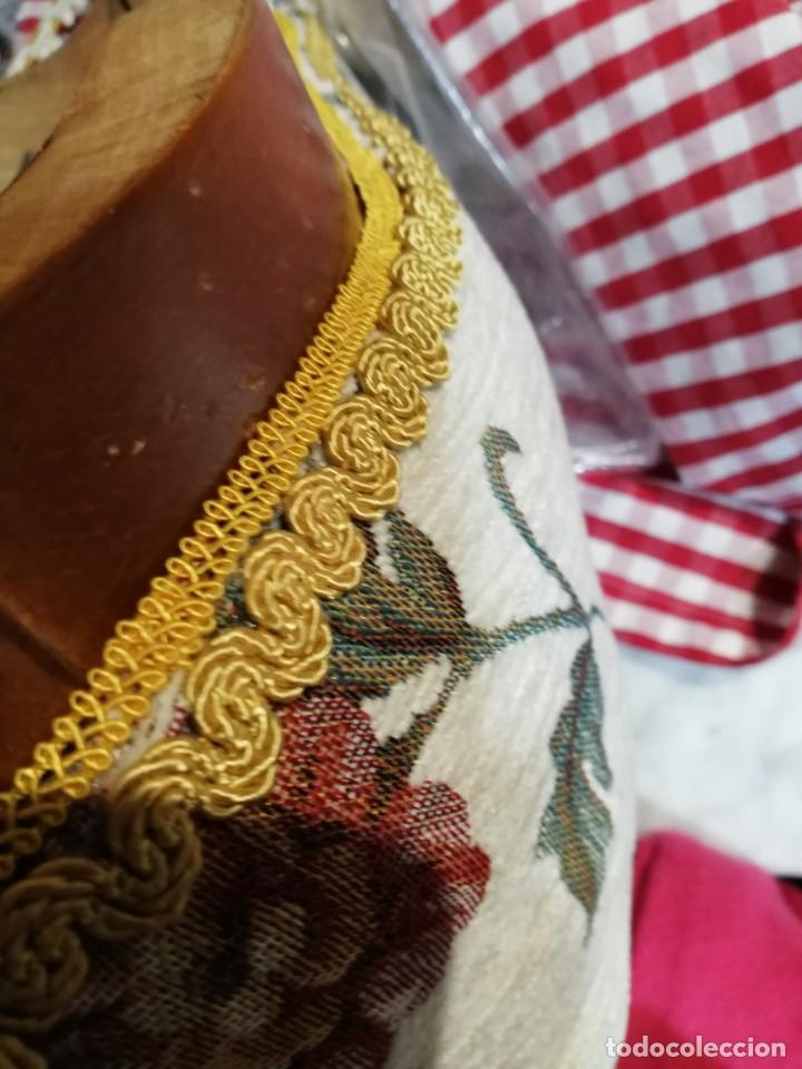 Antigüedades: Silla de madera maciza, estilo isabelina. - Foto 20 - 187204740