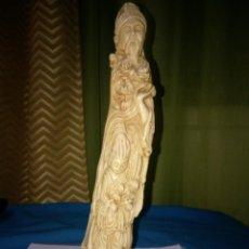 Antigüedades: ANTIGUA FIGURA CHINA. Lote 187212682