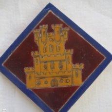 Antigüedades: AZULEJO HERALDICO RAMOS REJANO. Lote 187215182