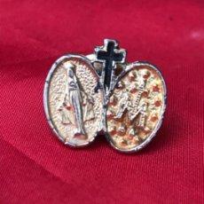 Antigüedades: ANTIGUO PIN MEDALLA DE LA MILAGROSA INMACULADA CONCEPCION. RELIGION. RELIGIOSO. PINS. Lote 187297340