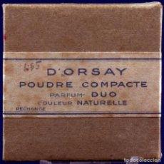 Antigüedades: ANTIGUA CAJA DE POLVOS. POUDRE COMPACTE, D'ORSAY. Lote 187299807
