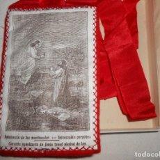 Antigüedades: ESCAPULARIO CORAZÓN AGONIZANTE DE JESÚS. Lote 187304812